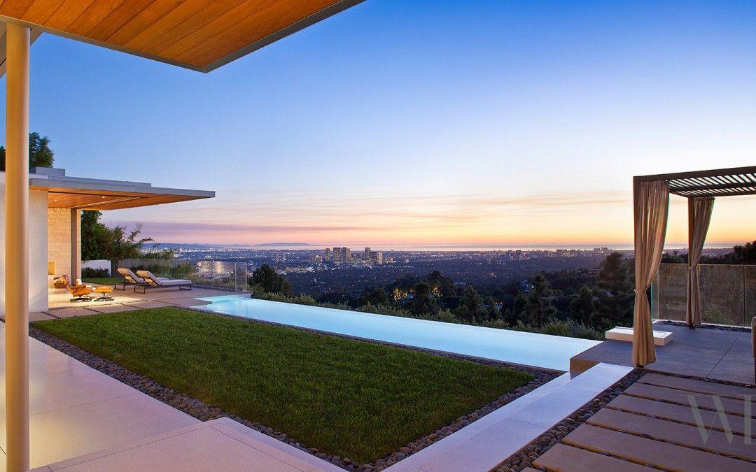 imagen de una casa moderna en California del arquitecto William Hefner