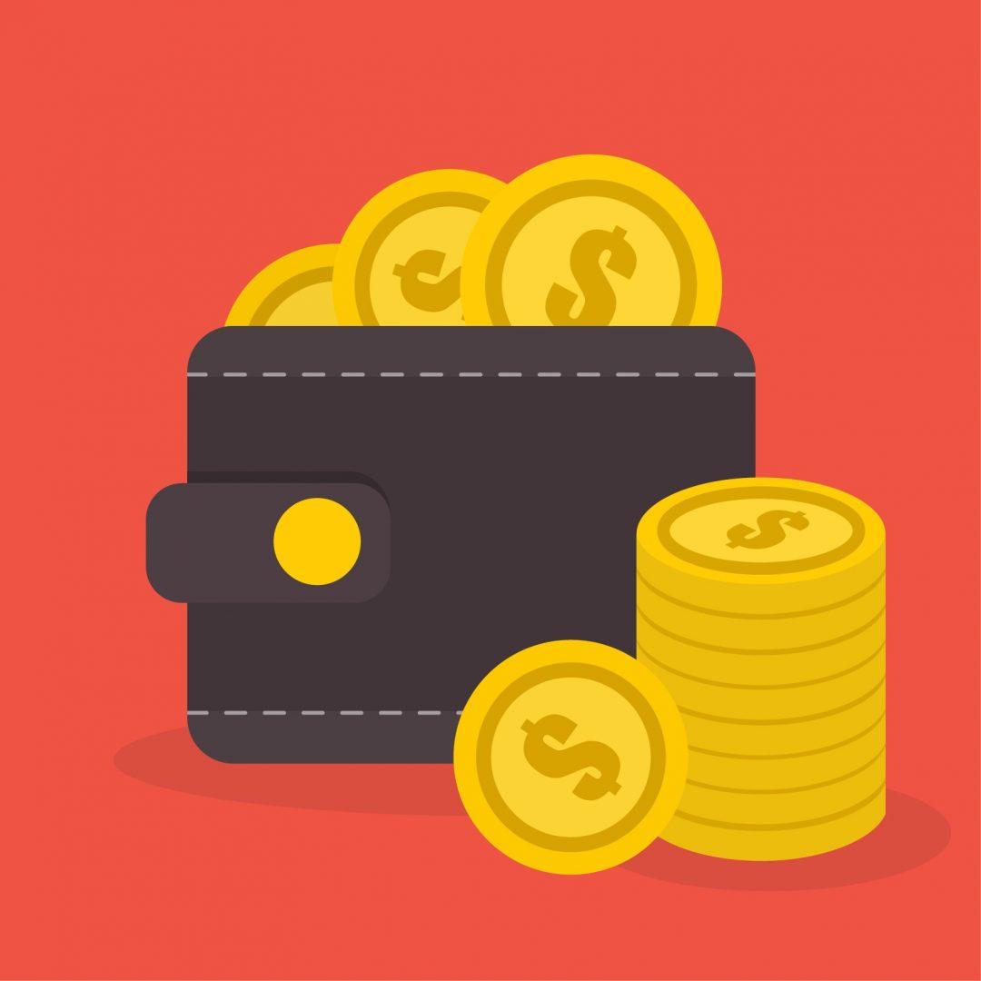 ilustración de monedas