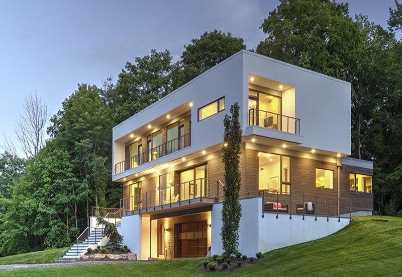 casas modulares fachada