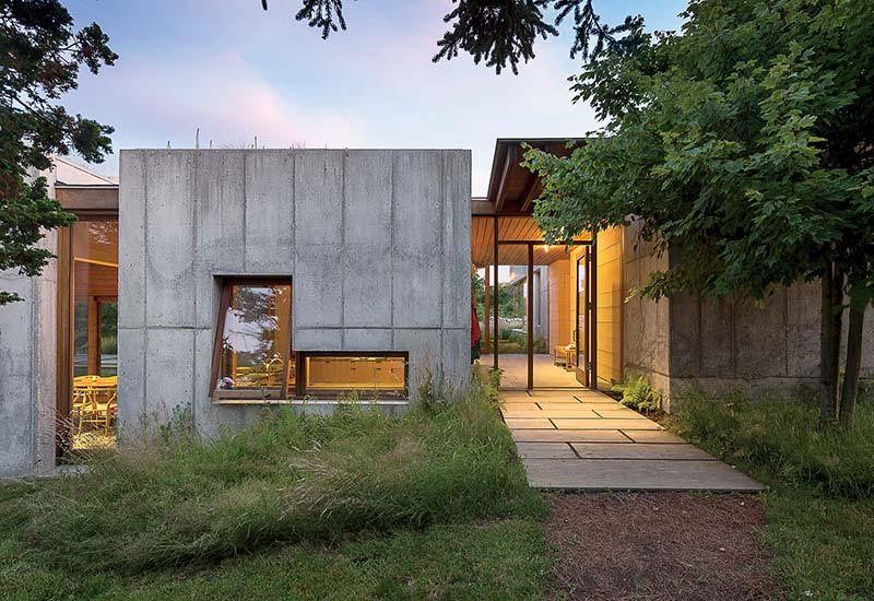 casas modulares hormigón