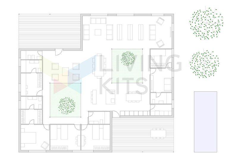 casas modulares planos