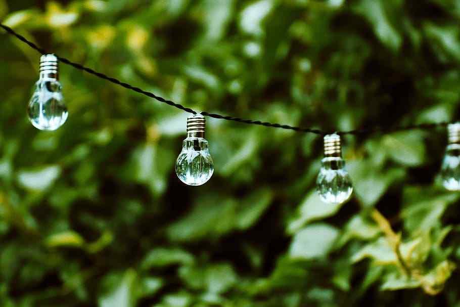 bombillas al aire libre
