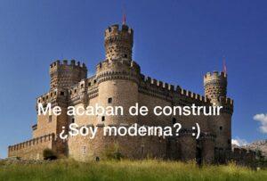 casa no moderna que es un castillo