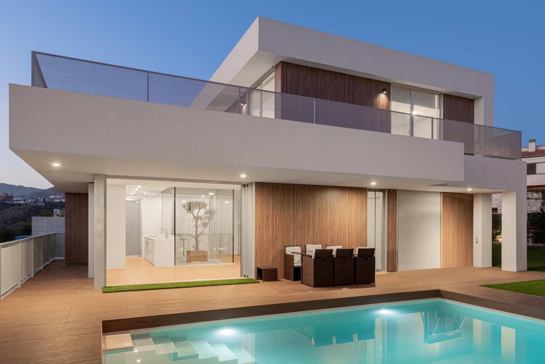 Casa Zen casa moderna en Sevilla exteriores
