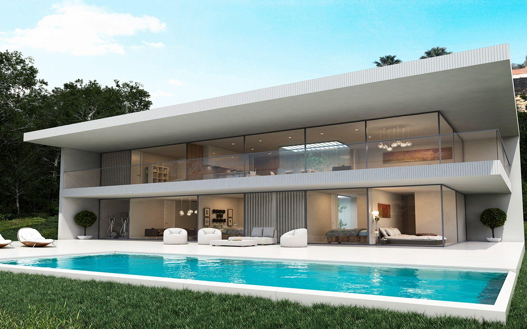 Exterior Casa Moderna Mirador en Benalmádena